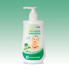 Dung dịch tắm rôm sảy em bé PhytoBEBE 250ml