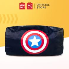 Bóp đựng đồ vải dày dặn, độ bền cao Miniso túi đựng mỹ phẩm du lịch túi đựng đồ trang điểm túi đựng mỹ phẩm túi xách du lịch túi du lịch Marvel Storage Bag 18x8x10cm