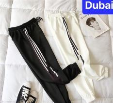 QUẦN JOGGER THỂ THAO HIPHOP NAM NỮ 3 SỌC CHỮ NUTRENT – DUBAI FASHION