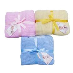Chăn lưới cho bé sơ sinh, hàng đẹp KT 1m2