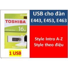 USB mini dữ liệu style cho đàn organ E443 E453 E463 giúp tìm kiếm dữ liệu dễ dàng, không bị thất lạc, bảo hành 12 tháng