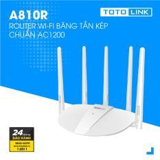 Router Wi-Fi Băng Tần Kép AC1200 – A810R – TOTOLINK