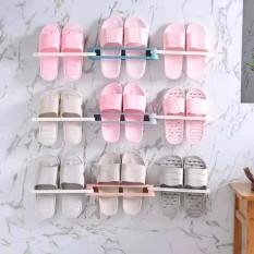 Giá để dép gắn tường gấp gọn thông minh (MS02), kệ treo giày dép gắn tường, kệ dép gấp gọn Gia dụng Huy Tuấn