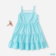 Váy Bé Gái Thun 2 Dây 5 Màu Siêu Xinh BELLO LAND