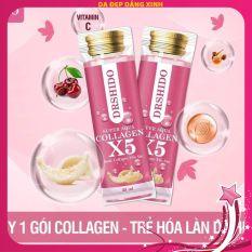 COLLAGEN X5 SUPER AQUA DR SHIDO-Nước Collagen X5 Yến Sào Nhật Bản