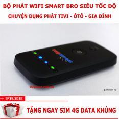 Củ phát wifi di động TỐC ĐỘ CỰC CAO- cấu hình cực KHỦNG- MAX RẺ ZTE MF65 phiên bản cao cấp Smart Bro nhập khẩu – Hàng Nhật Nội địa- tặng sim 4G DATA cực khủng