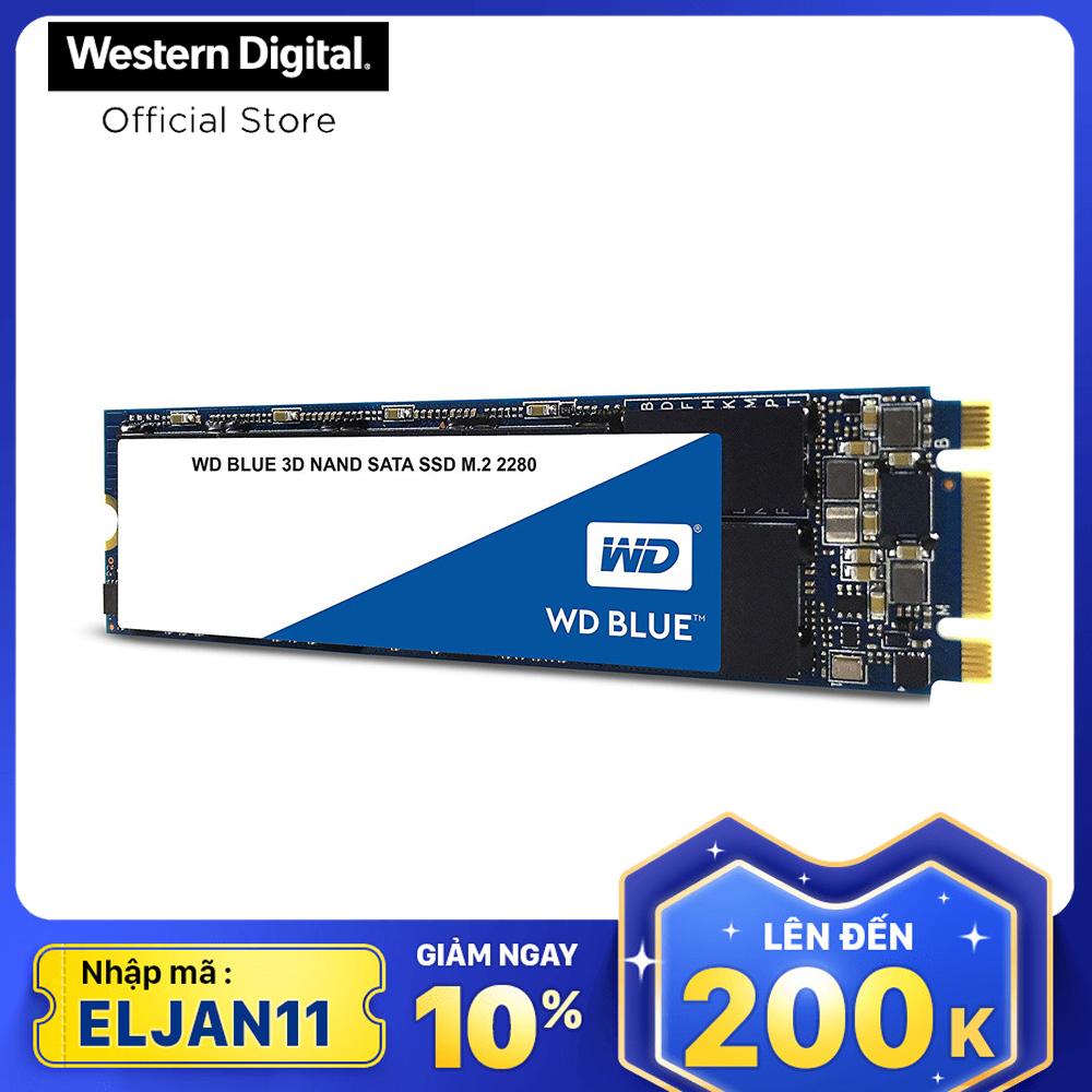 Ổ cứng SSD WD Blue 3D-NAND M.2 2280 SATA III 250GB WDS250G2B0B