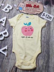 Áo liền quần Body Suit Cao Cấp 6-12 tháng(7,5-10,5 ky) cho bé trai bé gái