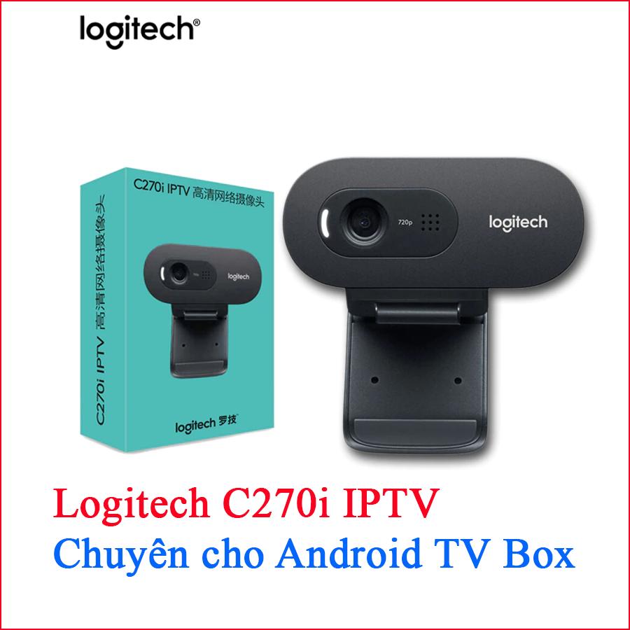 Webcam Logitech C270i IPTV chuyên cho android tv box