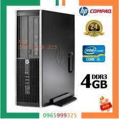 Cây máy tính để bàn HP 6200 Pro Sff (CPU i5 2400, Ram 4GB, HDD 500GB, DVD).Quà Tặng USB Wifi. Hàng Nhập Khẩu