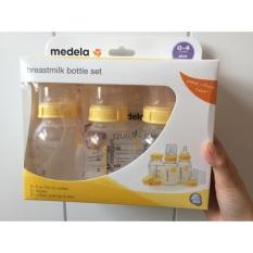 Set 3 Bình Sữa Medela 150Ml 250Ml ( Hàng Nhập Mỹ)