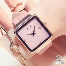 Đồng hồ Nữ GUOU Dây Mềm Mại đeo rất êm tay – Kiểu Dáng Apple Watch 40mm – Chống Nước Tốt