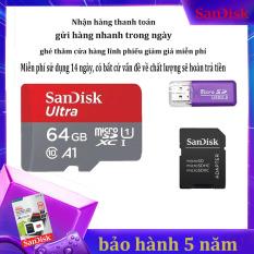 Thẻ Nhớ MicroSDHC SanDisk Ultra 128GB/64GB /32GB 90MB/S