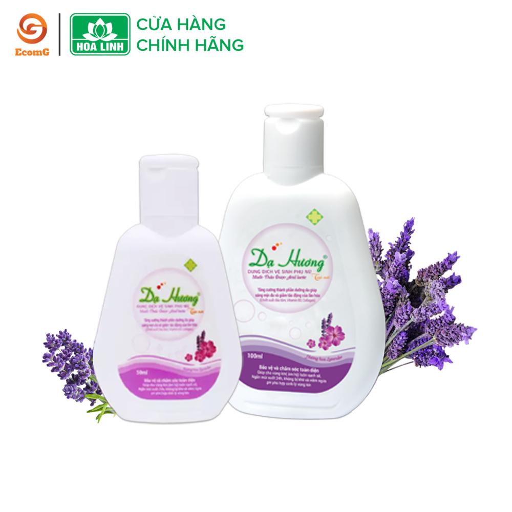 Dung dịch vệ sinh phụ nữ dạng gel Dạ Hương Lavender huyền bí – DH1