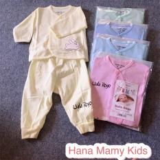 Bộ DÀI TAY cho bé (0-9 tháng ~ 3-8Kg)- hàng đẹp (tham khảo phần mô tả sản phẩm để chọn size)
