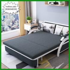 Giường Sofa Gấp Gọn Thành Ghế Tiện Ích Loại 1m58 x 1m95 tặng kèm 2 gối trị giá 300k