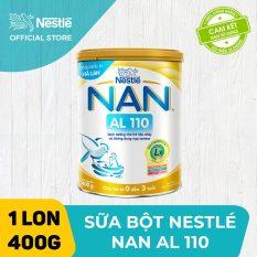 [FREESHIP 30K HCM&HN ĐƠN 399K] Sản phẩm dinh dưỡng công thức cho trẻ tiêu chảy và không dung nạp Lactose NAN AL 110 400g