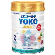 SỮA BỘT YOKO 2 850G (CHO TRẺ TỪ 1 – 2 TUỔI)