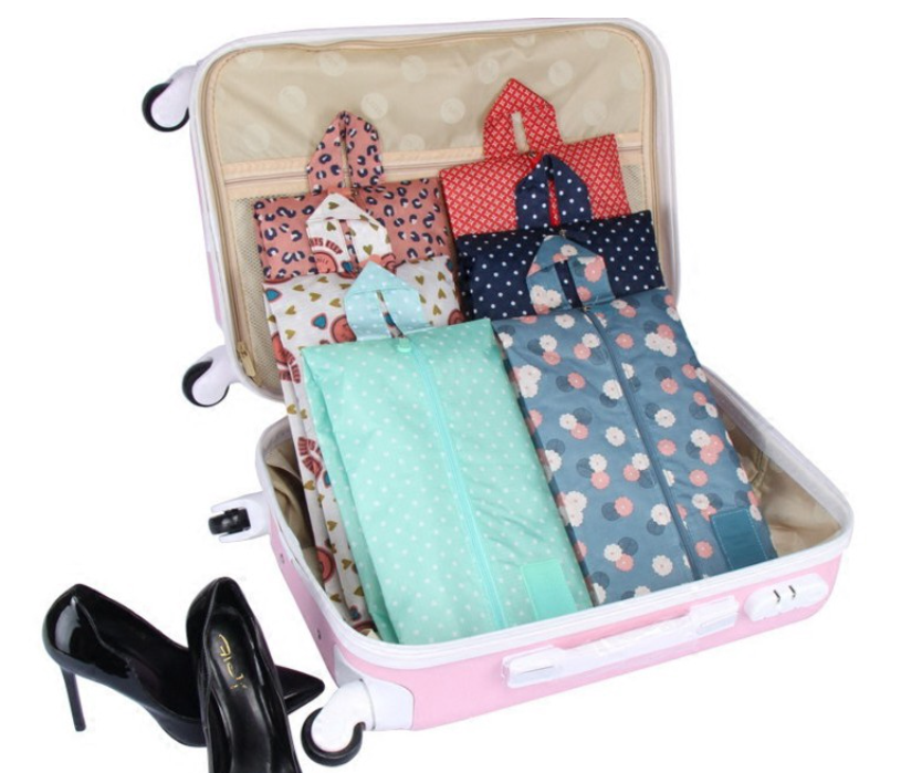 Túi đựng giày dép đi du lịch gấp gọn, túi đựng đồ dùng du lịch, túi đựng giày dép chống thấm nước, túi bảo quản giày dép, túi chống thấm nước đa dụng