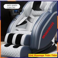 Ghế massage toàn thân thư giãn toàn thân, kết nối âm thanh Bluetooth, máy massage trị liệu điều khiển bằng màn hình cảm ứng
