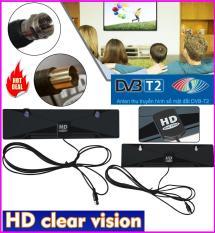 (có video thực tế) Anten truyền hình kỹ thuật số mặt đất DVB-T2 HD Clear Vision lắp đặt trong nhà nhỏ gọn bắt sóng khỏe nhất