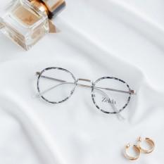 [LẮP SẴN CẬN]Gọng kính cận nữ, gọng cận tròn, kính phong cách vintage Z6013