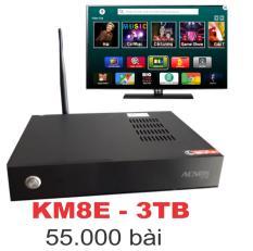 Đầu karaoke Acnos KM8E – HDD Nhạc 3TB – Điều khiển qua bài chờ online – offline bằng smartphone