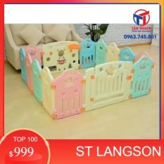 (SLS) Bộ quây cũi an toàn cho bé.