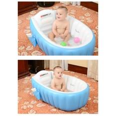 Chậu tắm cho bé Intime – Bể bơi mini có ghế chống trượt kích thích phản xả bơi cho trẻ sơ sinh. Tặng bơm hơi sản phẩm độc quyền về chất lượng