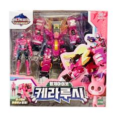 Đồ Chơi Mô Hình MINIFORCE Robot Siêu Khủng Long Tricera Hào Quang Hộ Vệ Cùng Siêu Nhân 304034