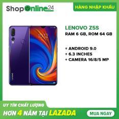 Lenovo Z5s 64GB Ram 6GB (Tím) – Hàng nhập khẩu