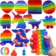 Cầu Vồng Color Unicorn Hand Fidget Spinner Giúp Tập Trung Và Chống Căng Thẳng