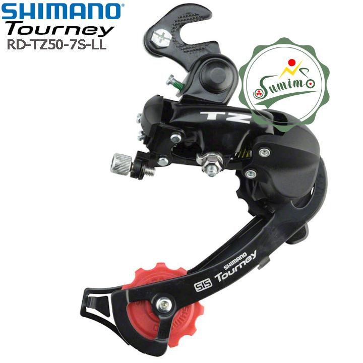 Cùi đề xe đạp – Gạt líp Shimano Tourney RD-TZ50-7 Speed – LL kiểu bát gắn cốt sau