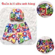 [TẶNG KÈM MŨ] – Quần bơi bé trai từ 13-25kg – mc queen – siêu nhân – Vải chuyên dụng cho đồ bơi – Red Ant Kids