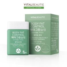 Viên uống giảm hấp thụ mỡ Vital Beautie Meta Green Slim (42 Viên)