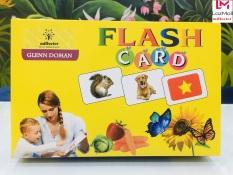 Bộ Thẻ Học Thông Minh Flash Card Glenn Doman Song Ngữ Cho Bé – Thẻ To Hàng Chính Hãng