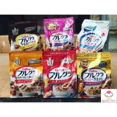 [HSD 8/2021] Ngũ cốc trái cây Calbee đủ 12 vị ngon tuyệt – Nhật Bản