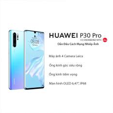 Điện thoại Huawei P30 Pro với bộ 4 Camera Leica, Màn Hình Cong OLED, Ram 8GB, Bộ Nhớ Trong 256GB, với Pin khủng 4200mAH, với công nghệ sạc siêu nhanh 40W, sạc ngược không dây  Hàng Chính Hãng 