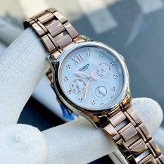 Đồng hồ Nữ Casio LTP-E306R-2AVDF siêu ấn tượng dây kim loại chính hãng giá rẻ
