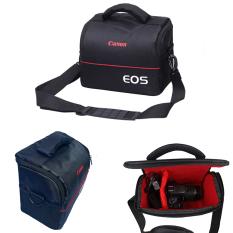 Túi đeo máy ảnh canon eos thông dụng 2 ngăn chống sốc chống nước mua gọn nhẹ