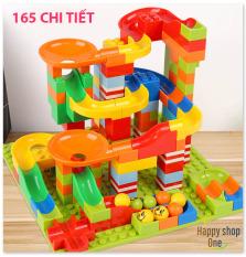 Đồ chơi trẻ em , Đồ Chơi Xếp Hình Tháp Lăn Bi 165 chi tiết siêu đẹp cho bé