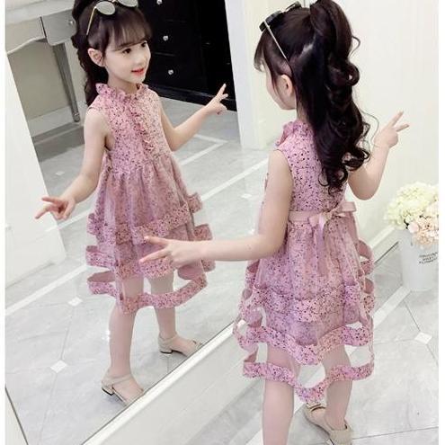 Váy Hàn Quốc bé gái size 14-32kg. MSP: VH190301