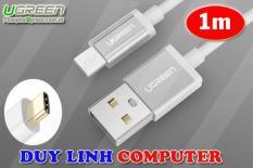 Cáp sạc 1m USB TYPE C sang USB 2.0 vỏ nhôm Ugreen 30503