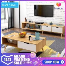 Tủ kệ Tivi đơn giản hiện đại phong cách Bắc Âu đồ nội thất cỡ nhỏ phòng khách