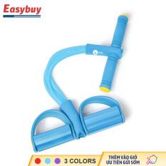 Bàn đạp dây kéo 4 ống đàn hồi , dụng cụ hỗ trợ gập bụng, thiết bị tập thể dục tại nhà, giảm béo bụng