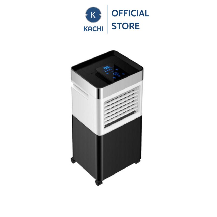Quạt làm mát không khí Kachi mk158 30l – màu đen trắng, mang đến cho không gian sống của bạn sự mát mẻ trong lành với thiết kế đa chức năng, tiết kiệm năng lượng