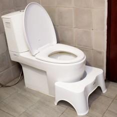 bệ ngồi vệ sinh cho bé , Ghế kê chân đi vệ sinh -Ghế kê chân toilet chống táo bón cho trẻ