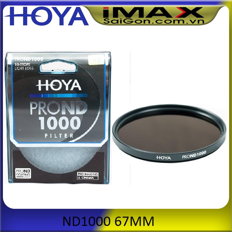 [HCM]Kính lọc Filter Hoya Pro ND1000 67mm