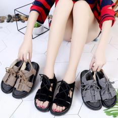 Dép sandal cột dây quai hậu kiểu dáng Hàn – Minh Châu shop