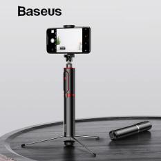 Gậy selfie cao cấp có bluetooth di động thông minh thiết kế kiểu chân máy ảnh chụp ảnh không dây từ xa chuyên nghiệp – Phân phối bởi Baseus Vietnam
